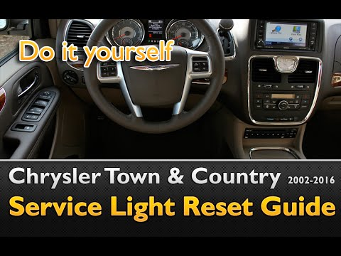 chrysler town country service light oil life reset 2002 2016 youtube rh youtube com 2003 Town and Country Van 2003 town and country service manual