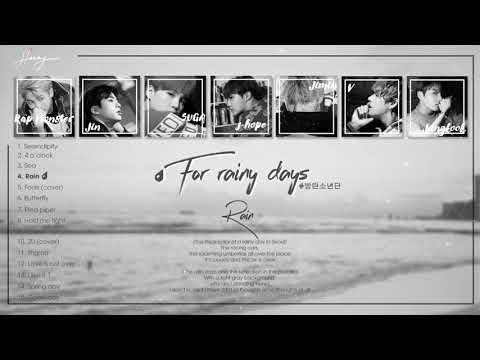 [Playlist] BTS - For rainy days