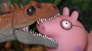 Динозавр юрского периода оказался в лесу. Динозавры мультфильм