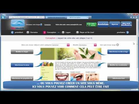 FR Creation site internet CMS et nom de domain €19/année www.sitementrix-cms.fr