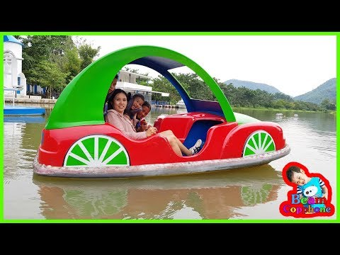 น้องบีม   นั่งเรือถีบ เที่ยวราชบุรี เวเนโต้สวนผึ้ง EP2