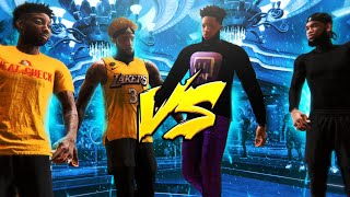 Annoying plays Ronnie 2K's son for the last time for $5000 with new Huh Nation recruit. NBA 2K20