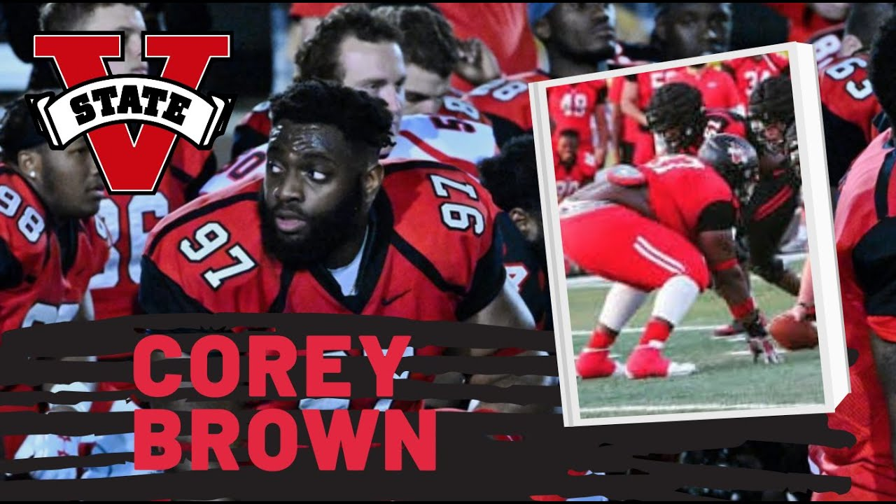 Corey Brown, DT, Valdosta State | 2021 NFL Draft Prospect Zoom Interview