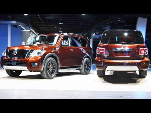 2017 Nissan Armada Unveiled With 8500 Pound Towing Capacity