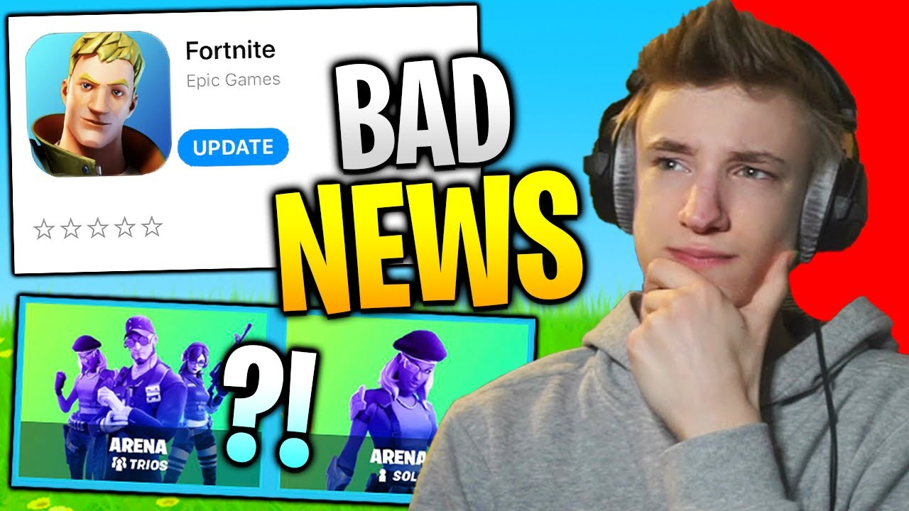 i have bad news for fortnite mobile...