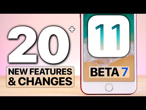 20+ NEW iOS 11 Beta 7 Features & Changes!
