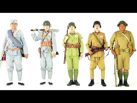 Chinese Army Uniform In 100-years (First Edition)