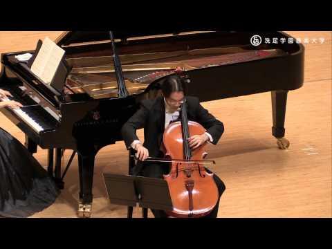 羽川真介:弦楽器コース講師(チェロ) 『R.シューマン / 5つの民謡風小品 作品102』