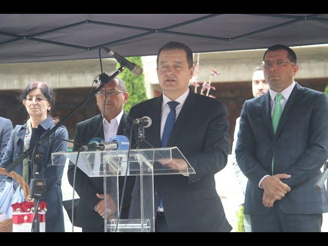 [29.05.2020.] Говор министра Дачића на уручењу кључева станова за избегле породице у Б.Паланци