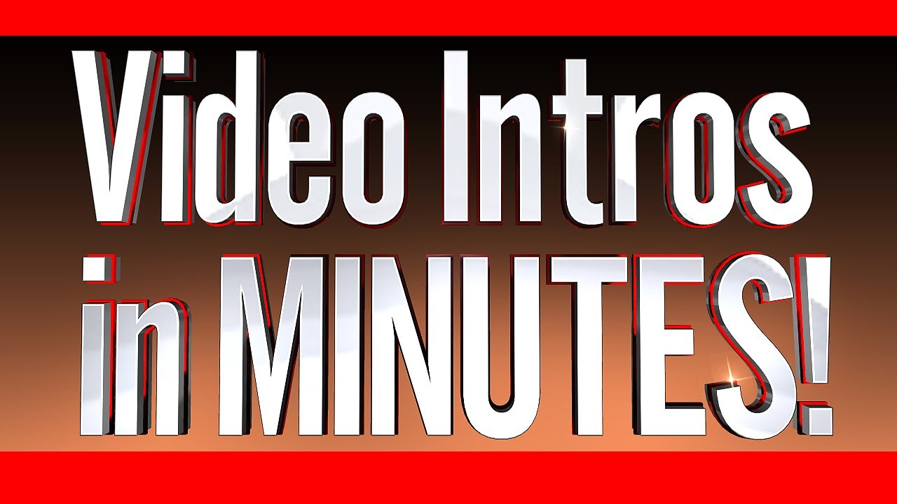 Intro Video Template Maker Get A Video Intro In Minutes