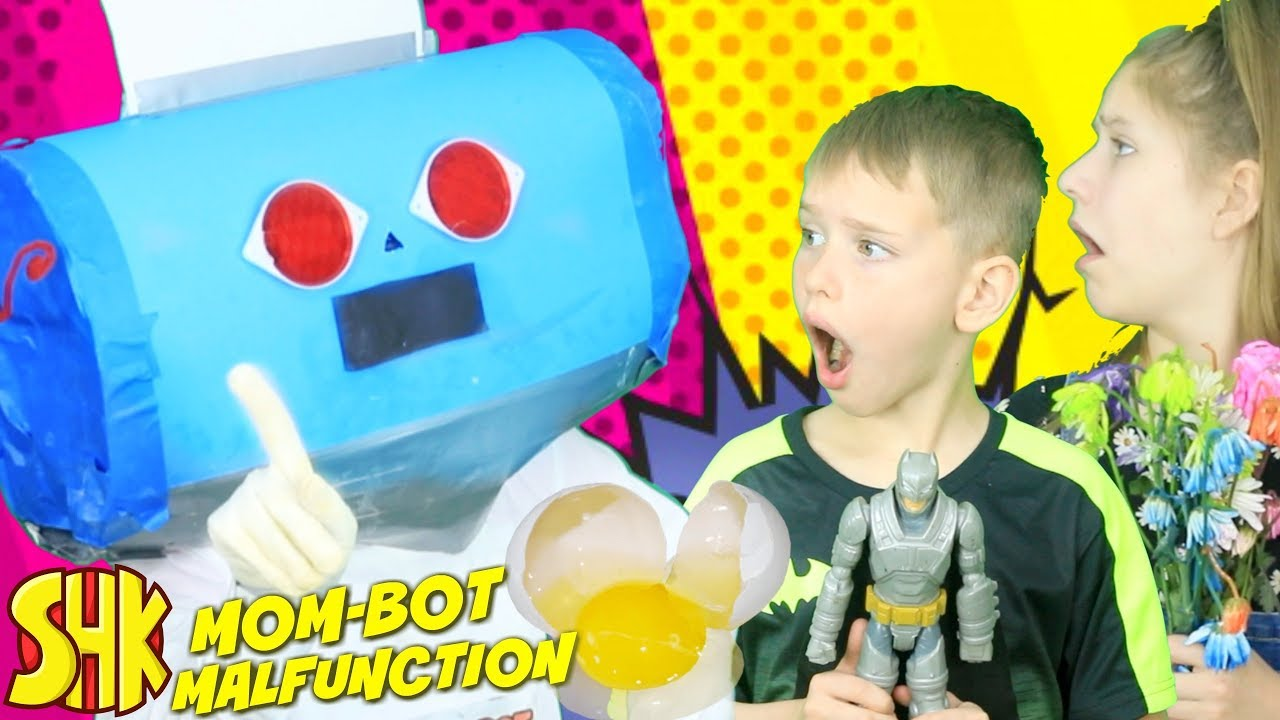 Mom Bot Malfunction: Robot Messes Up Mother's Day! - YouTube