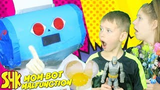 Mom Bot Malfunction: Robot Messes Up Mother's Day!
