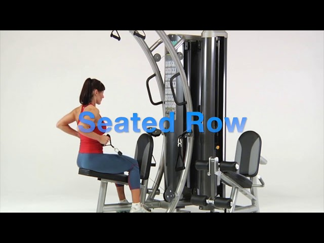 Back Exercises | HTX-2000 Functional Trainer | TuffStuff Fitness