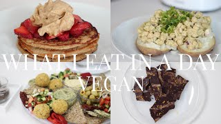 What I Eat in a Day #7 (VeganPlant-based)  JessBeautician