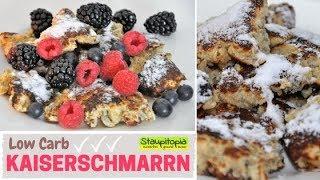 Low Carb Kaiserschmarrn / Protein Kaiserschmarrn selber machen OHNE Zucker und Mehl I Skyr Rezept