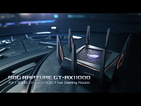 ROG Rapture GT-AX11000 - Future of Speed | ROG