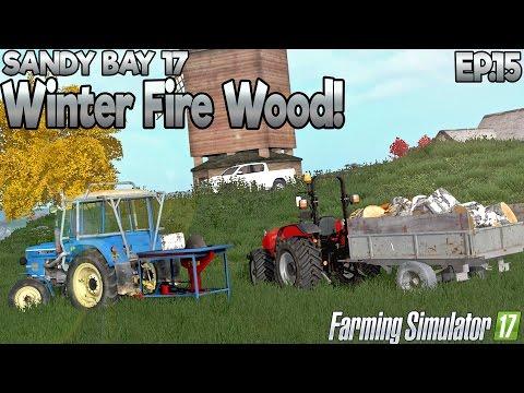 Sandy Bay 17 - Farming Simulator 17 -  Ep.15  (with Wheel Cam)