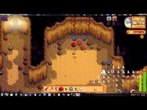 Stardew Valley - Skull Cave Bomb Rush! Iridium Farmer