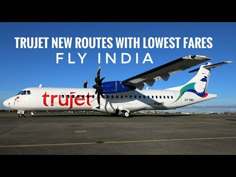 Trujet Launches New Routes: Cheapest Airfares