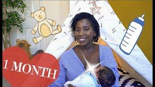 BABY UPDATE - NAMES, ROUTINE, BREASTFEEDING & MORE | AdannaDavid