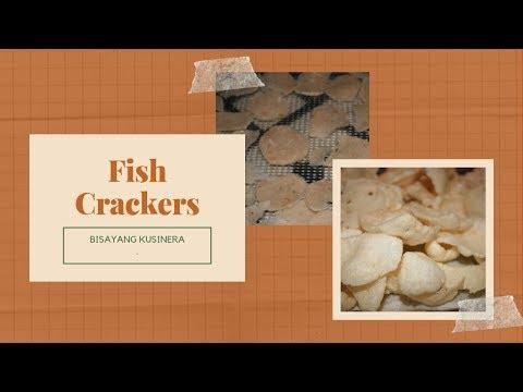 FISH CRACKERS( Homemade)