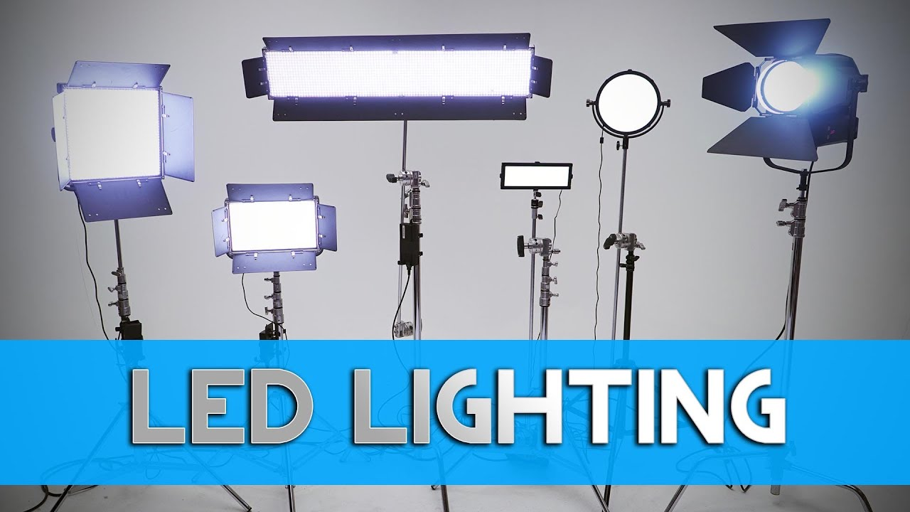 sc 1 st  YouTube & DVTV - LED Lighting for Filmmaking u0026 Video Production - YouTube