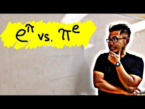 e^pi vs pi^e