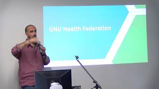 openSUSE Conference 2019 - Building large health networks GNU Health Federation and openSUSE