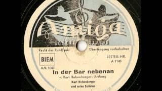 In der Bar nebenan - Kurt Hohenberger