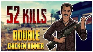 52 Kills Double Chicken Dinner with Gaitonde | Jack Shukla Live