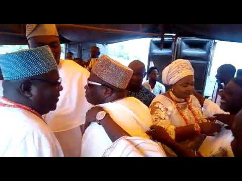 Fuji Icon, Alhaji Abass Akande Obesere thrills Oba Saheed Ademola Elegushi and others in Ibadan