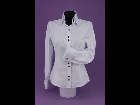 Как укоротить рукав с манжетом у женской рубашки Часть 3