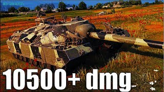 T95 wot как играют статисты 🌟 10500+ dmg за бой World of Tanks
