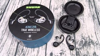 Shure Aonic 215 - True Wireless Earbuds For Audiophiles