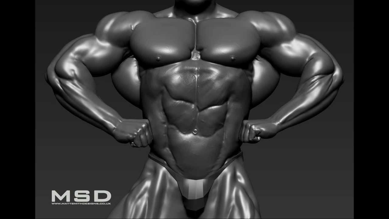 Dorian Yates 1/4 Scale Statue WIP - YouTube Dorian Yates Front Lat Spread