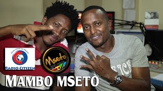 Ramso Latino Live On Mambo Mseto With Mzazi Willy Tuva.