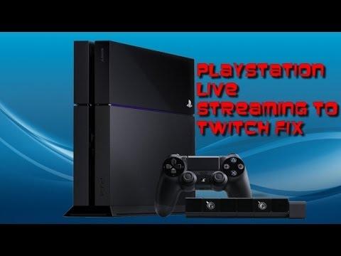 PS4 Twitch Fix