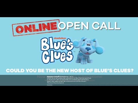 My Blue's Clues Audition