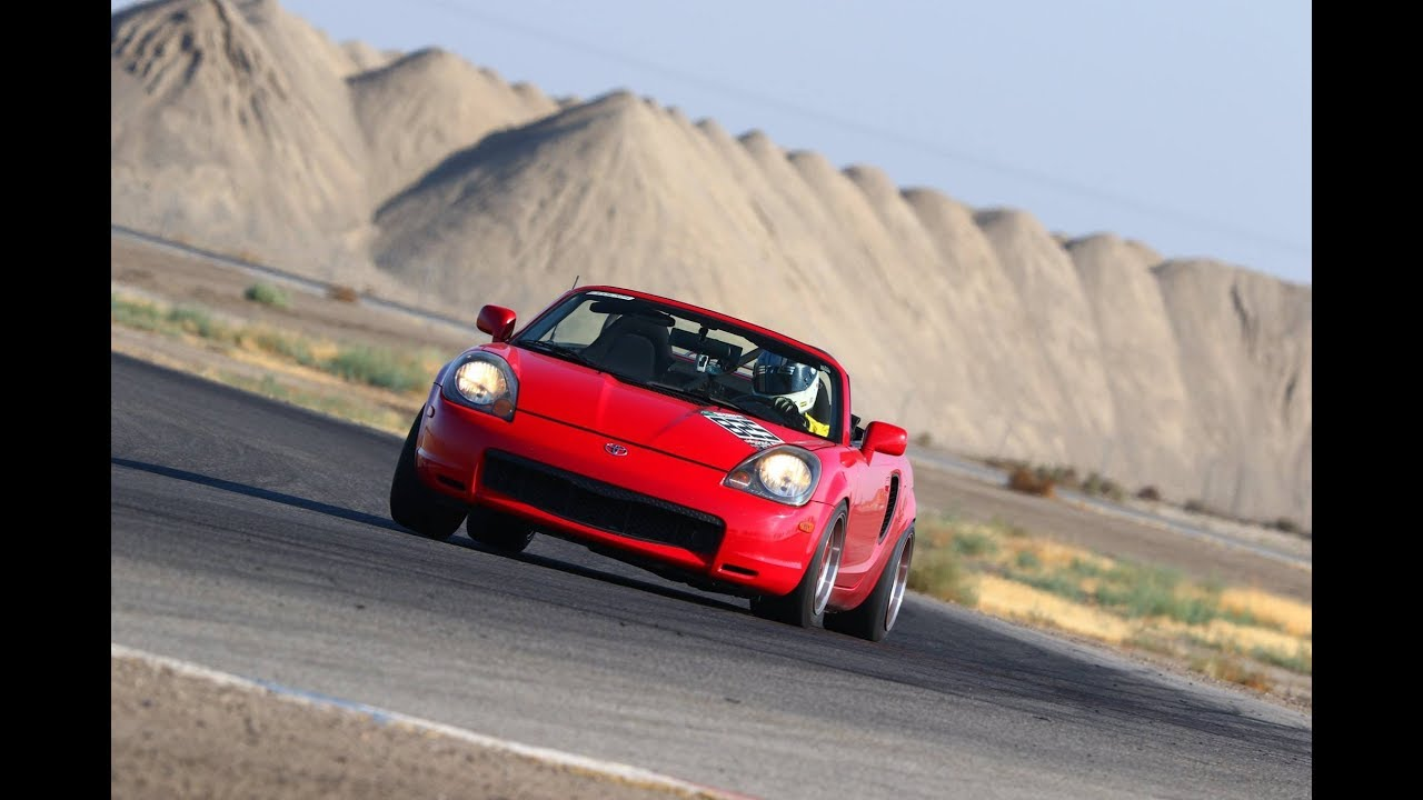 Toyota Mrs No Steering Vs Track Driving Compaire At Onwillow Cw13