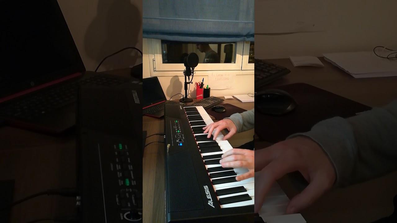 Aprendiendo piano - Día 69 - escalas