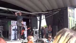 Ice Nine Kills - Someone Like You - Adele Cover (Live Warped Tour 2014 - Camden, NJ)