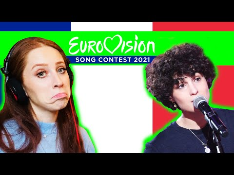 I REACTED TO ?? FRANCE'S SONG FOR EUROVISION 2021 // BARBARA PRAVI // VOILA ??