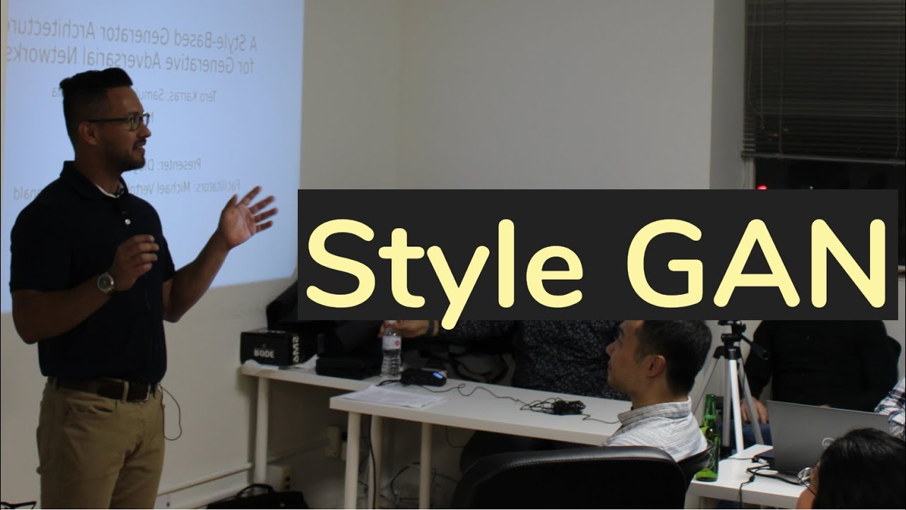 [StyleGAN] A Style-Based Generator Architecture for GANs, part 1 (algorithm  review) | TDLS