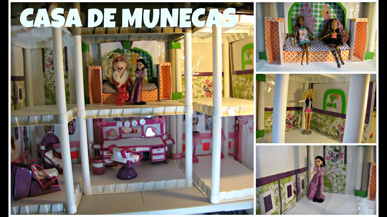 Como hacer una casa de munecas bratz ever after high - Manualidades de casas ...