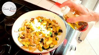 No-Guilt Veggie Stir Fry Recipe | Low Calorie Recipe | Zucchini and Yellow Squash Recipe