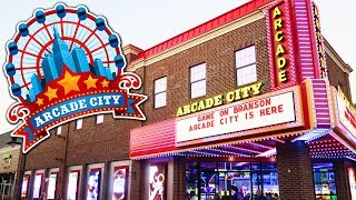 Exploring the NEW Arcade City in Branson!
