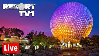 🔴Live: Moonlight Magic at Epcot Live Stream - Special DVC Event