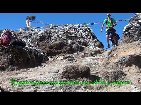 Quelques instants dans le Solokhumbu trail 2014