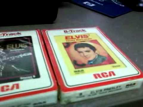 elvis 8 track collection RCA