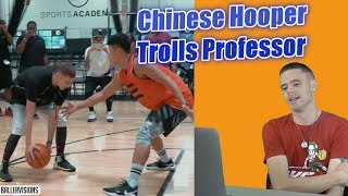 The Professor Reacts to 1v1 Aggressive Chinese Pro.. Tells Story How He Twitter Trolled Him